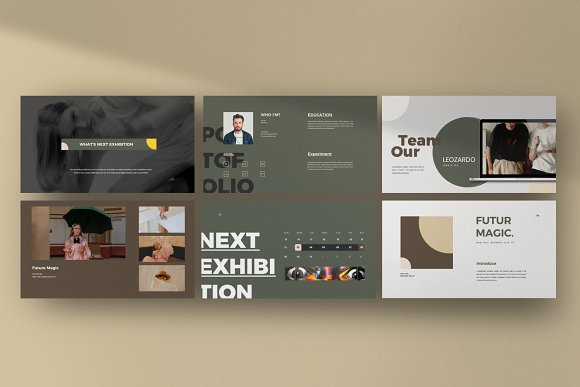 Portfolio Lookbook - Google Slide in Google Slides Templates - product preview 5