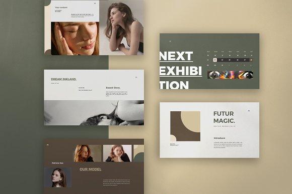 Portfolio Lookbook - Google Slide in Google Slides Templates - product preview 7