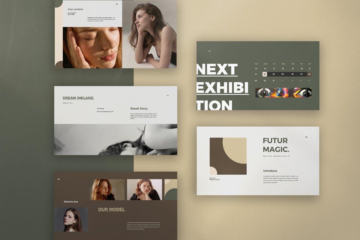 Portfolio Lookbook - Google Slide