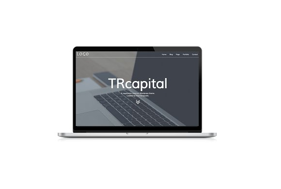 TRcapital-responsive wordpress theme in WordPress Business Themes - product preview 1