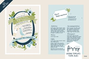28 x U.S. size Wedding Templates
