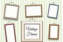 Vintage photo or picture frames