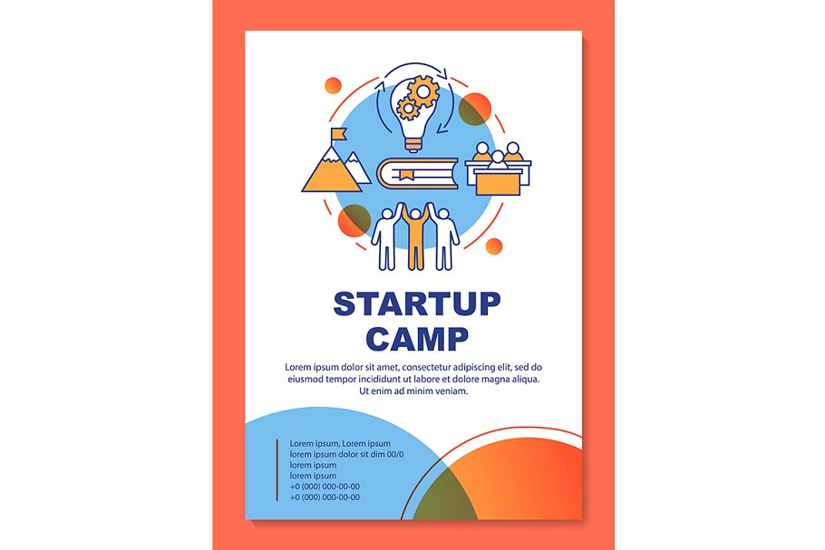 Businessman, company owner camp