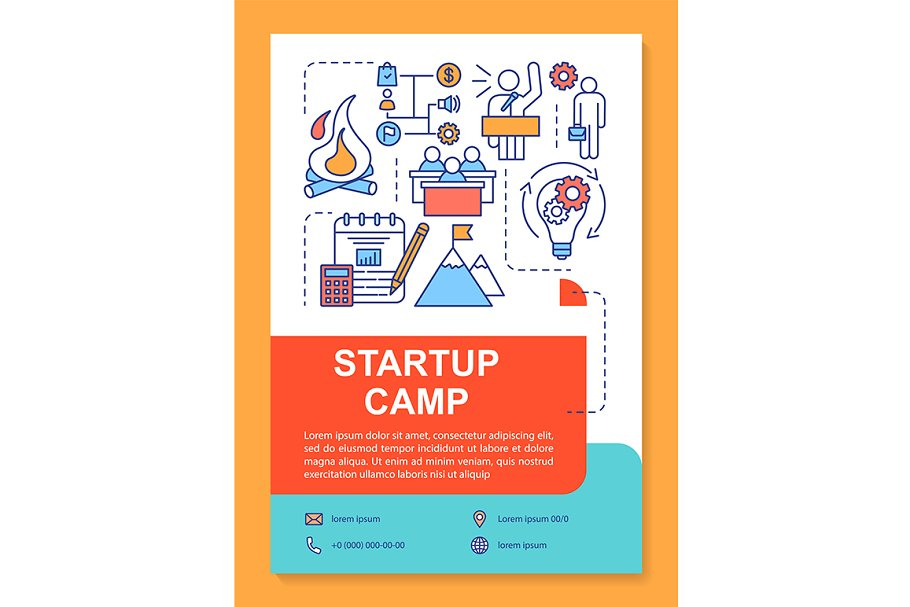 Startup camp, new business training