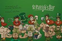 St. Patricks day bundle, vector