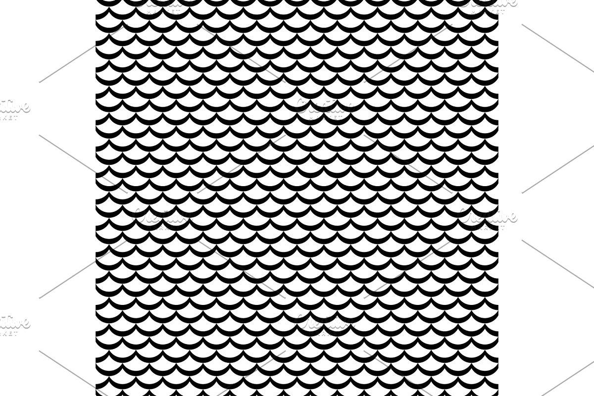 Waves lines design elements pattern