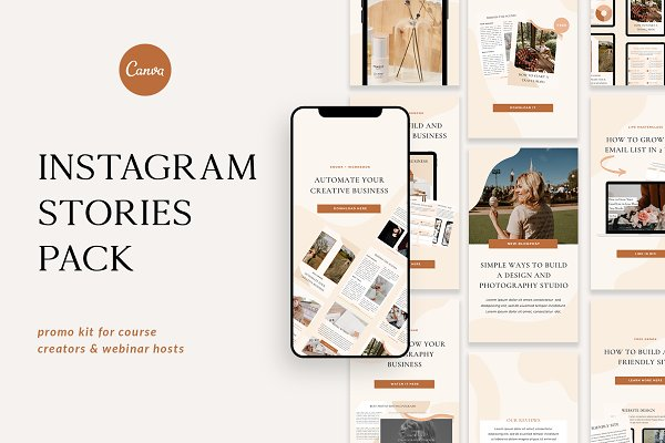 Instagram Stories for Course Creator