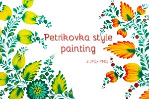 Petrikovka traditional painting