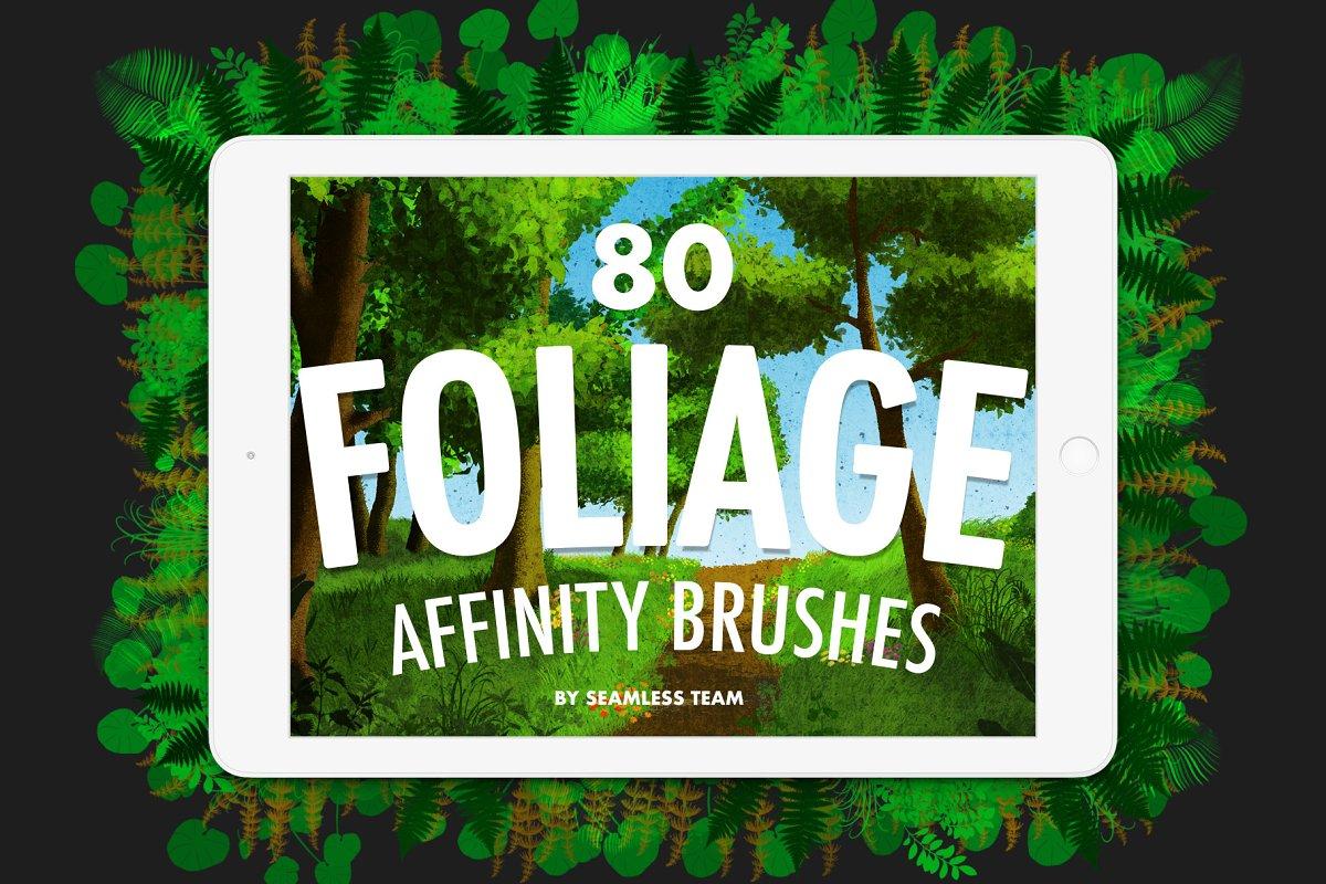 Foliage Brushes for Affinity