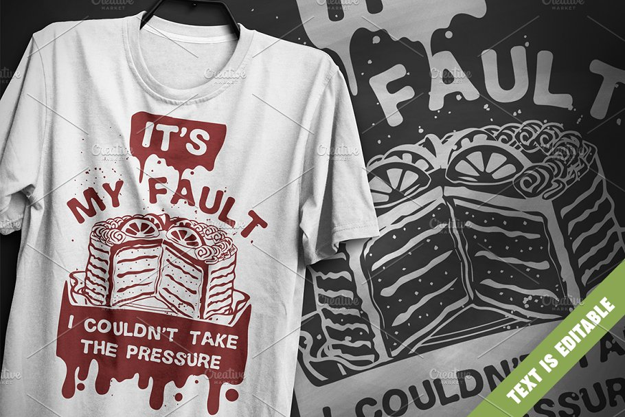 It's my fault - T-Shirt Design