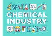 Chemical industry concepts banner