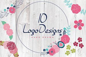 10 Logo Design Bundle Vector PSD