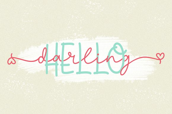 Discount 50% - Sheenline Font Duo in Script Fonts - product preview 5