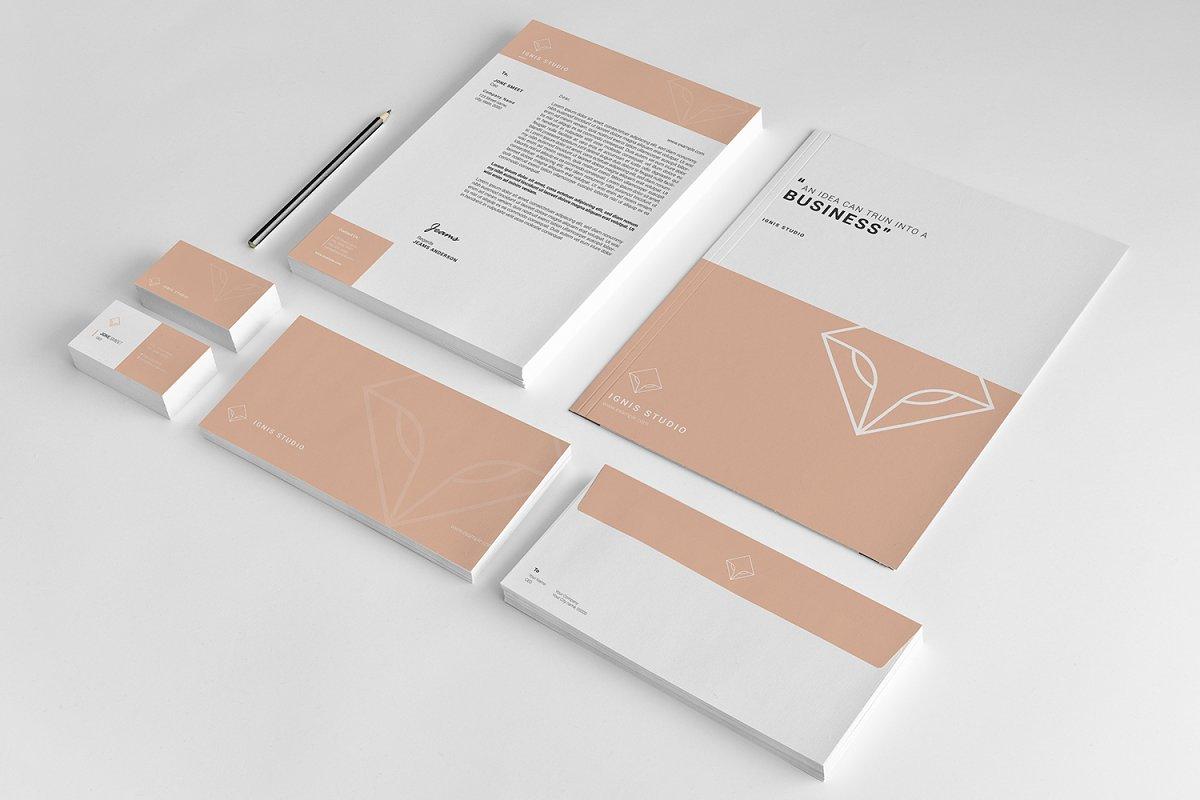 IGNIS Studio Brand Identity Pack