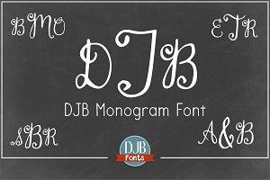 DJB Monogram Font