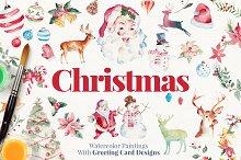 Christmas Paintings + Bonus
