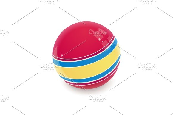Ball. Childs toy. - Illustrations