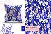 Lila Vector Patterns