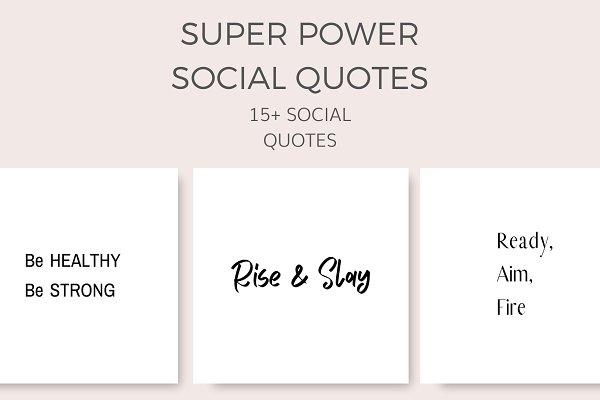 Super Power Quotes(15+ Images)