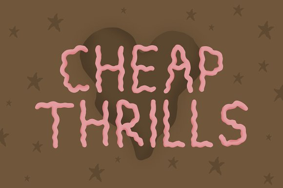 Cheap Thrills Font in Sans-Serif Fonts - product preview 5