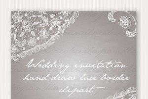 Hand draw Lace frame