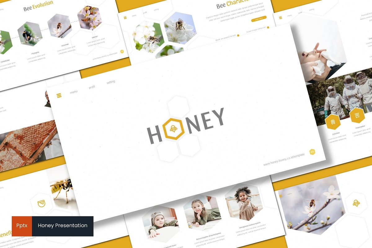 Honey - Powerpoint Template