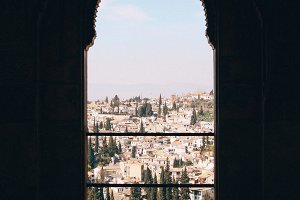 vista from the alhambra