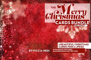 The Merry Christmas Cards Bundle