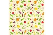 seamless vegetable texture