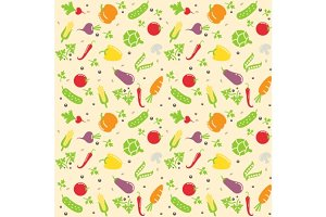seamless vegetable texture