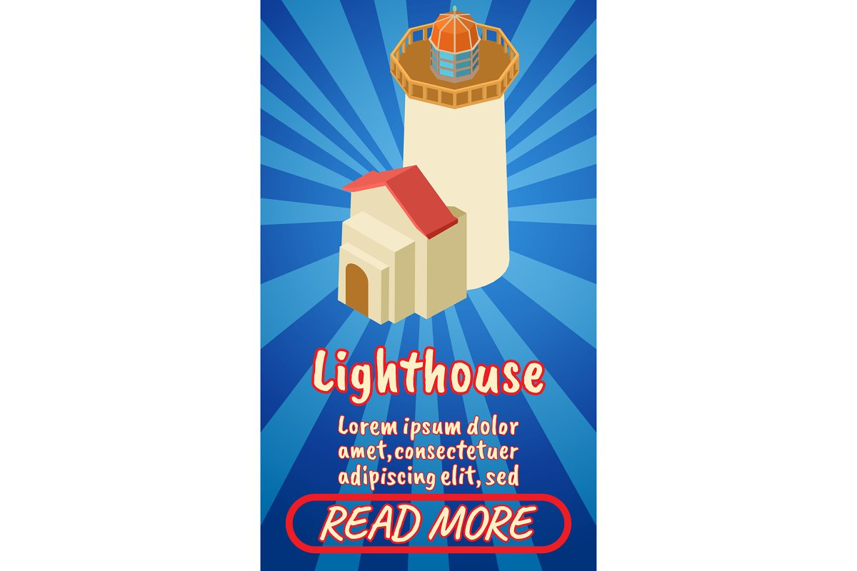 Lighthouse concept banner