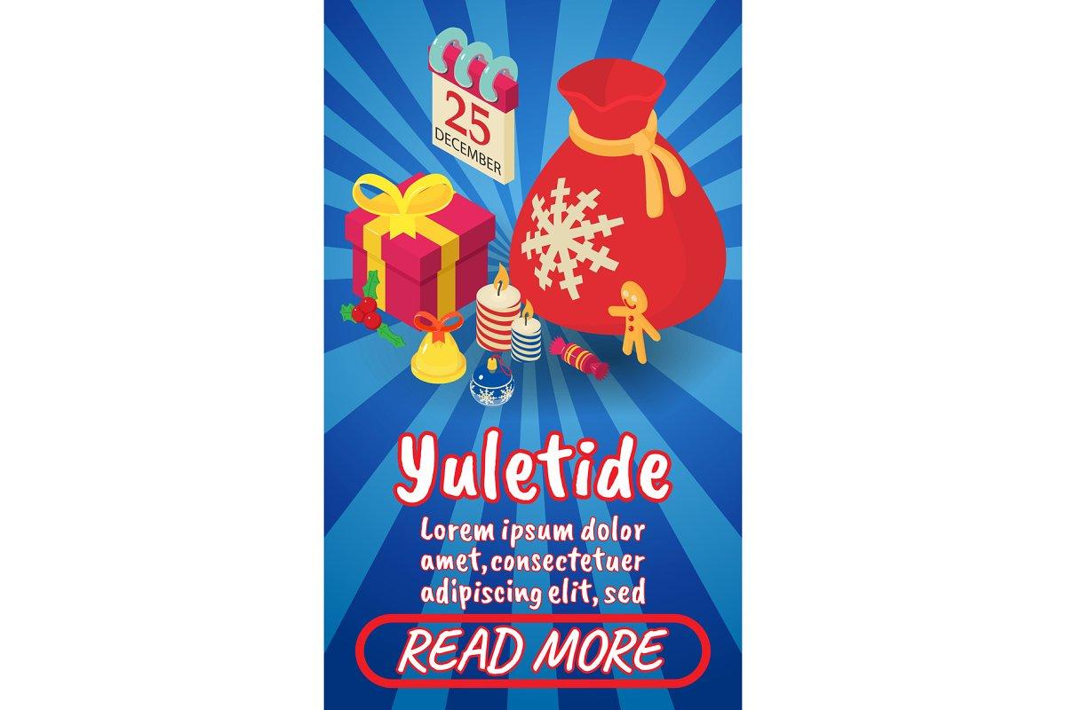 Yuletide concept banner