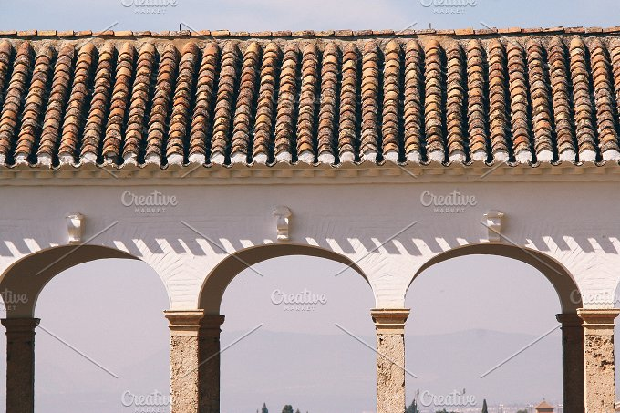 arches of andalusia no.1 - Architecture