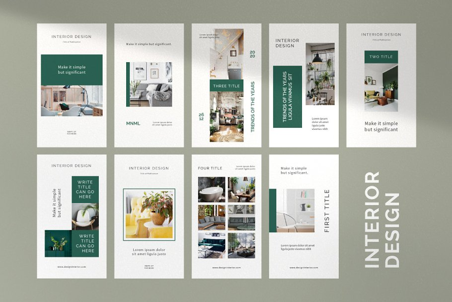 Interior Design Post & Stories
