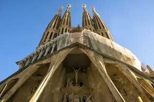 Sagrada Familia in Barcelona.