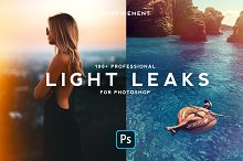 190+ Retro Analog Light Leaks Bundle