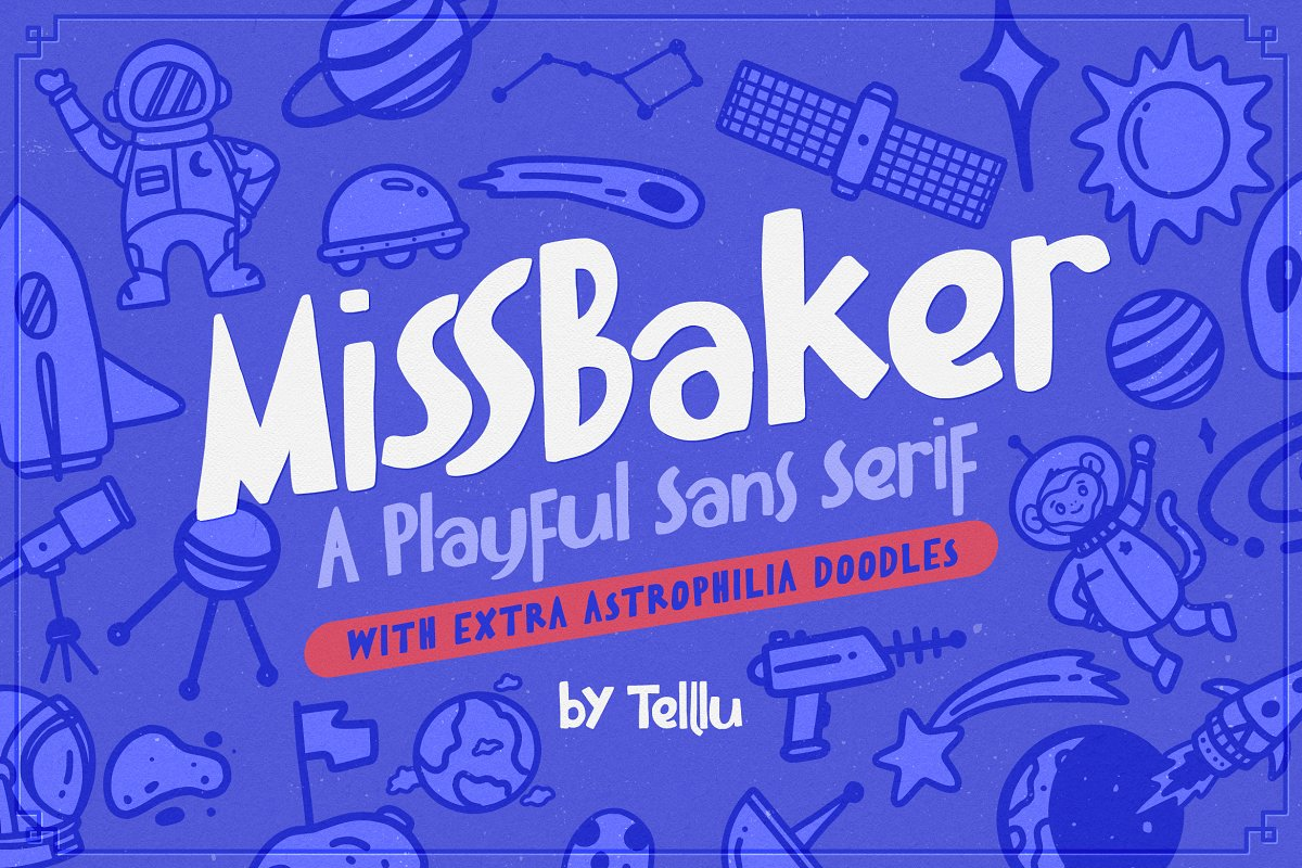 MissBaker in Sans-Serif Fonts - product preview 8