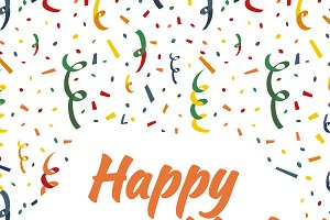 Happy Hanukkah card cover