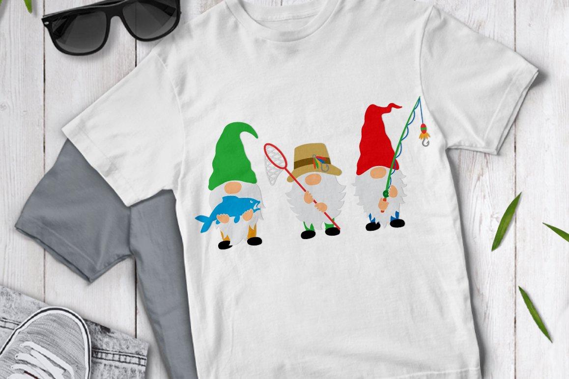 Download Fisherman Gnomes Svg Gnome Clipart Pre Designed Photoshop Graphics Creative Market