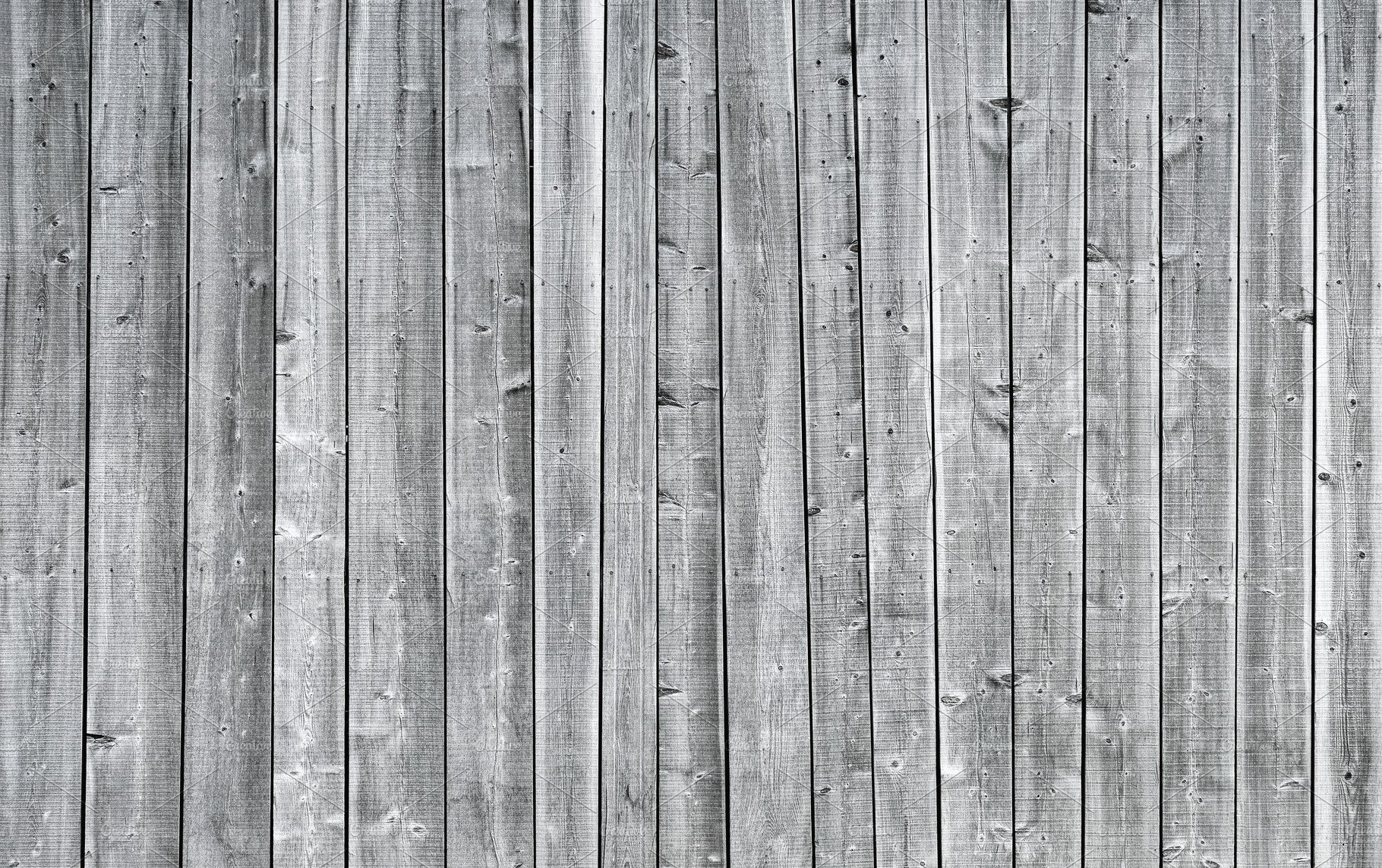 White Gray Wood Planks Texture High