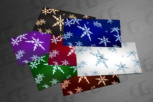 snowflakes focusing backgrounds