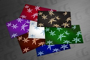Christmas snowflakes backgrounds