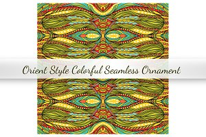 Orient Seamless Vector Ornament