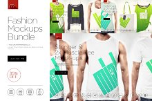 Fashion Mock-up Bundle VOL.1 /9in1