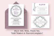 Delicate Floral Wedding Suite
