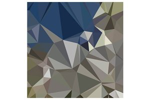 Ash Grey Abstract Low Polygon Backgr