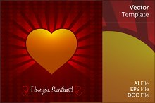 Decorative Ornament Valentine Heart