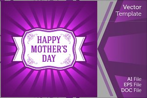 Happy Mother Day Ornament Gift Card