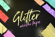 Glitter Moshi Tape Objects