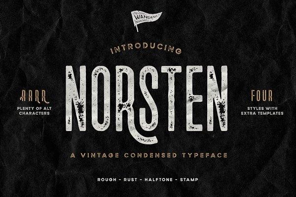 Norsten Vintage Condensed + Extras